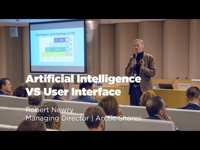 Artificial Intelligence VS User Interface | Robert Newry
