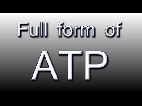Full form of ATP