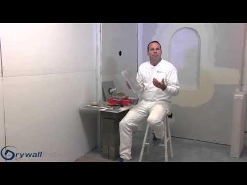 Finishing Tools -  Drywall Instruction