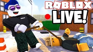 LIVE! - ROBLOX FLEE THE FACILITY! w/Subscribers - COME JOIN ME!