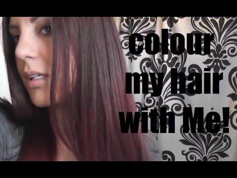 COLOUR MY HAIR WITH ME!