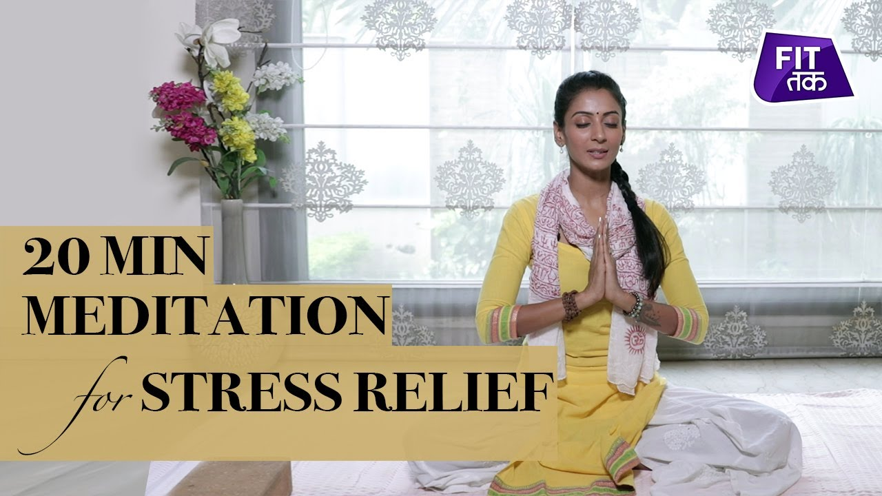 Guided Meditation for Stress Relief, Anxiety | Fit Tak