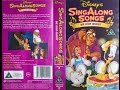 Sing Along Songs - Be Our Guest [UK VHS] (1993)