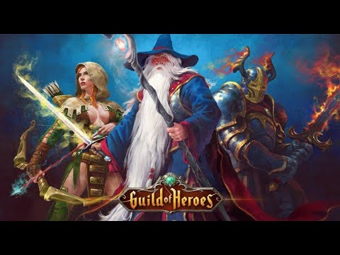 KAHRAMANIN İLE SAVAŞ - GUILD OF HEROES GAMEPLAY (BLUESTACKS)