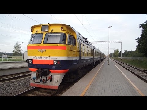 Trains in Latvia 2016