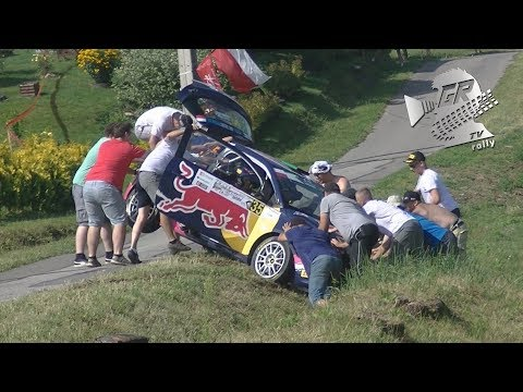 ERC 26° Rally Rzeszow 2017 | Free Practice & Qualifying Stage ACTION | SHAKEDOWN by GRB