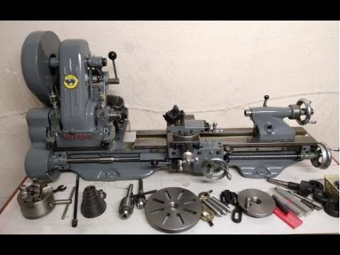 Myford ML7 Lathe Serial Number K100468 - YouTube