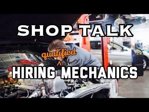 Shop Owner Talks Hiring Mechanics & Technicians - Hiring Process For A Auto Mechanic