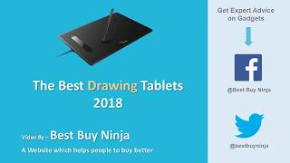 Best Drawing Tablets 2018 - For Beginners and Professionals