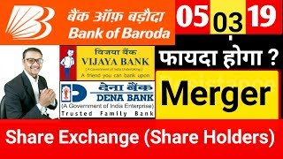 Vijaya bank Share Price,Dena bank,Bank of Baroda | Merger Update 2019 | Bank Of Baroda Update 2019.