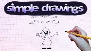 Simple drawings #44 How to draw salute