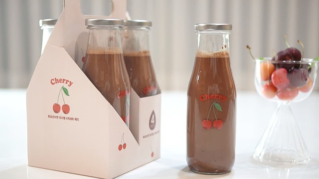 [카페 사장 추천 음료] 리얼 체리 초코우유 만들기 chocolate cherry milk :: 지니 Jiny