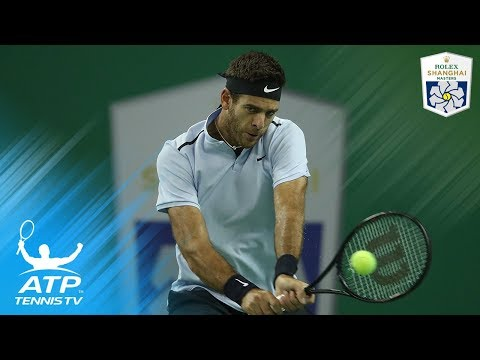 Juan Martin del Potro's crushing shots to beat Alexander Zverev | Shanghai 2017 Highlights Day 4