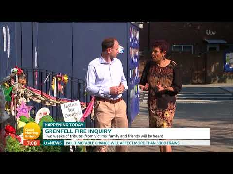 Grenfell Fire Enquiry | Good Morning Britain