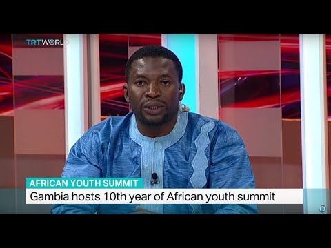 Interview with Ankara University student Ebrima S. Nije on African youth summit