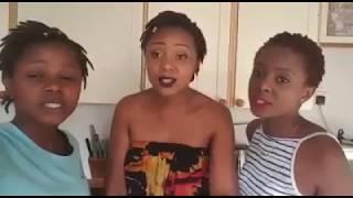 JAH PRAYZAH SINGING COMPETITION WINNERS  - CHENGETEDZA. THREE ZIMBABWE SISTERS.