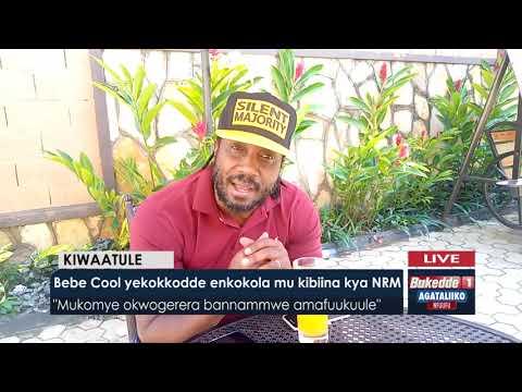 Agataliikonfuufu: Bebe Cool yekokkodde enkokola mu kibiina kya NRM.