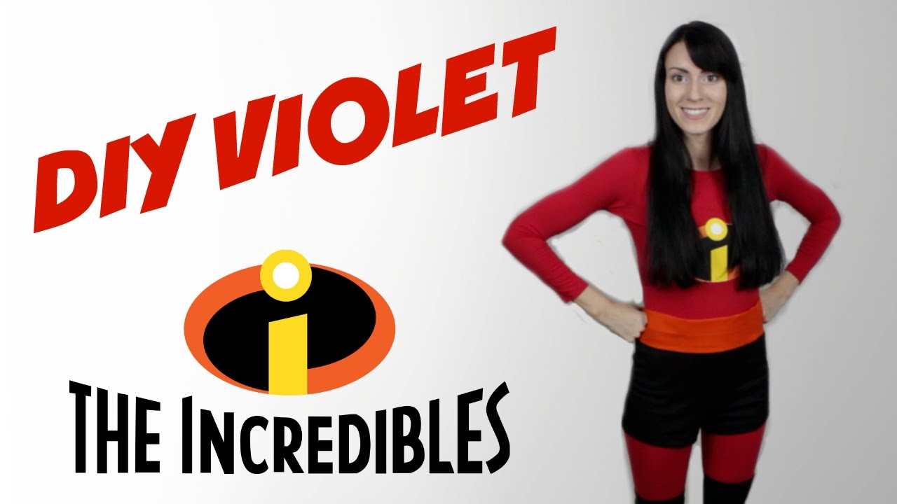 Incredibles: Violet Parr Costume / Cosplay - YouTube