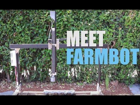 FarmBot روبوت مزارع يتحمل عنك متاعب الزراعه ! 3