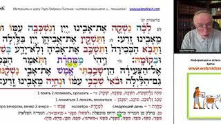 В ЧЬЕМ ОБРАЗЕ СОЗДАН ЧЕЛОВЕК? Библейский иврит. Урок 7 продолжение