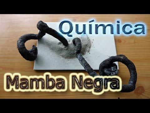 Química: La Mamba Negra  🐍 (Experimentos de Química Caseros)🔬⚗️