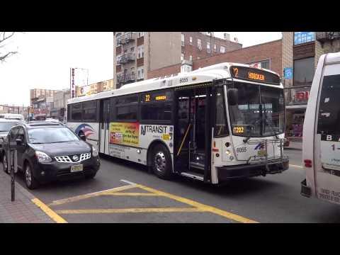 NJT Bus Operations Bergenline Avenue Compilation Part 2!!!
