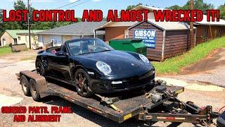 Rebuilding wrecked Porsche 911 turbo part 2