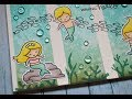 UNDER THE SEA CARD SERIES    Mermaid Family