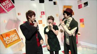Opening, 오프닝, Music Core 20081025