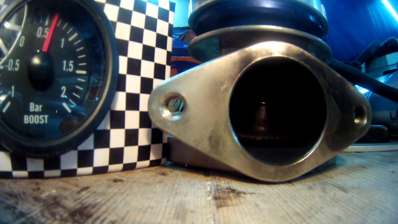 Wastegate turbosmart 38mm 1 ressort @7PSI