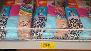 Round #2 at Wal-Mart on the Girls 2.00 clearance underwear