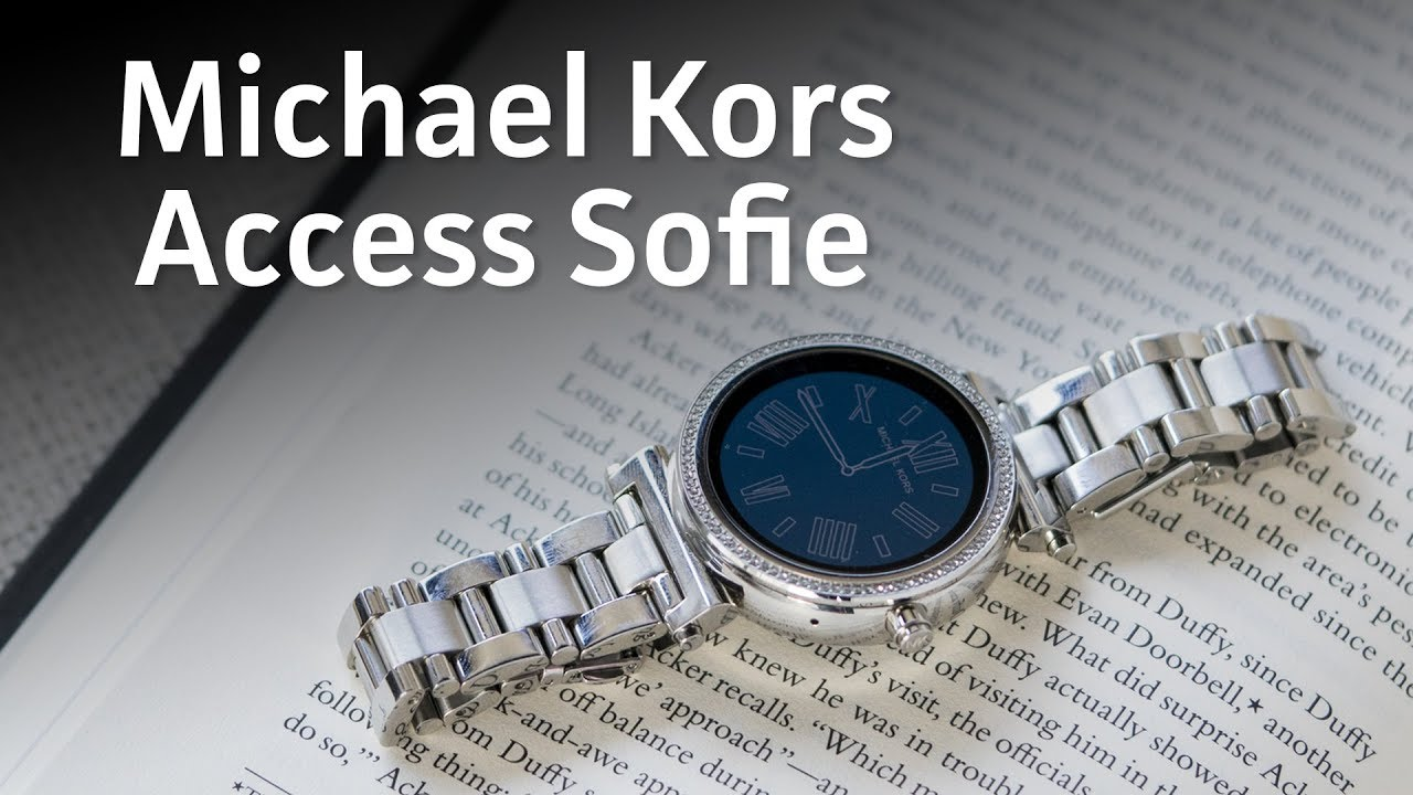 ec93a992da Michael Kors Access Sofie review  The prettiest Android Wear smartwatch  you ll lay eyes on