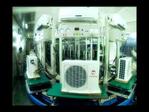 Làm phim quảng cáo – Quảng cáo sản phẩm điều hòa Nishu – sản xuất TVC chuyên nghiệp