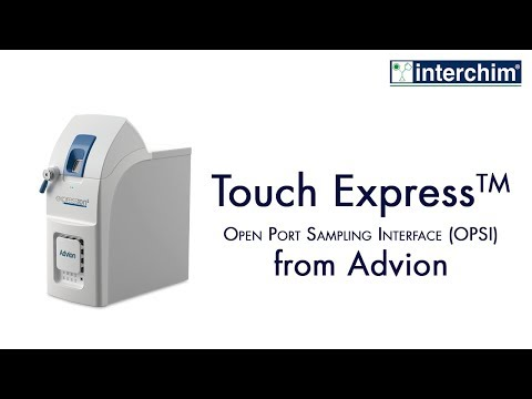 Advion - Touch Express Open Port Sampling Interface (OPSI)