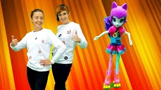 Веселая Школа с Машей Капуки Кануки - Делаем зарядку - Видео для детей