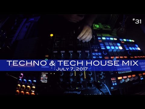 Techno & Tech House Mix Deep Underground House Dance July 7,  2017 60 Minutes