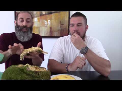 First Time Tasting Jackfruit