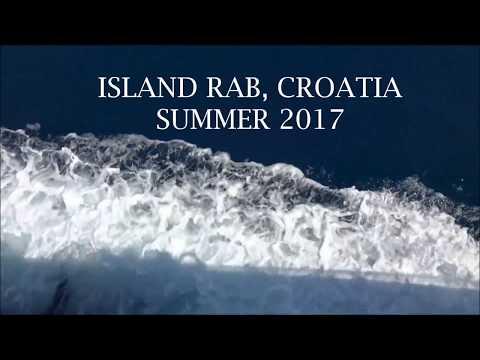 ISLAND RAB, CROATIA SUMMER 2017