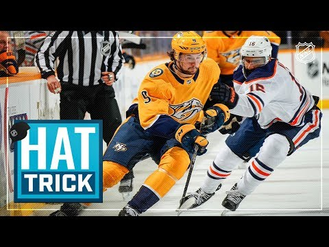 Filip Forsberg spearheads Preds' offense with hatty