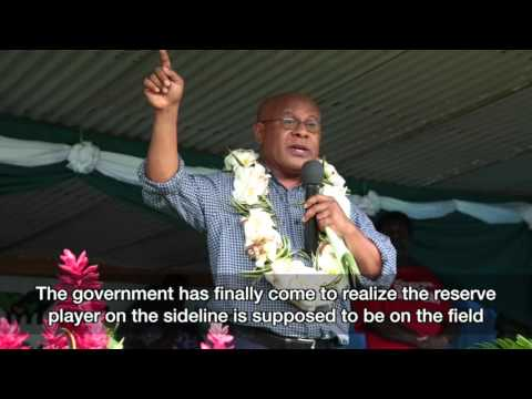 "DG Howard Aru says: ""Vanuatu Productive Sector Must Spearhead Vanuatu Economy"""