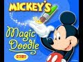 Mickey Mouse Online Games - Mickey's Magic Doodle Game - Paint And Color Games