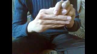 Оторвать палец, фокус (урок)!!!