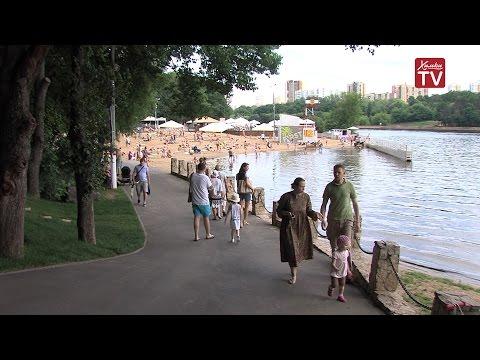 Популярный журнал «Афиша» признал химкинский пляж лучшим в Подмосковье