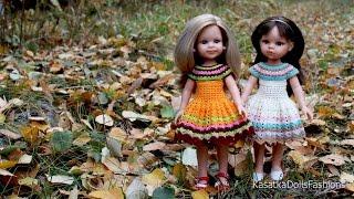 Одежда для кукол своими руками: вяжем куклам