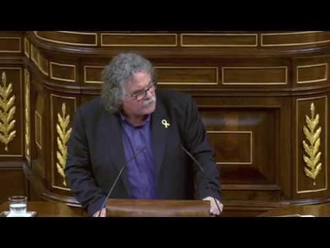 Joan Tardá contra la ministra de Hacienda por Cataluña y Presupuestos - Debate