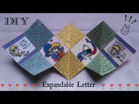 DIY: Expandable Letter   Valentine's Day   Gift Ideas