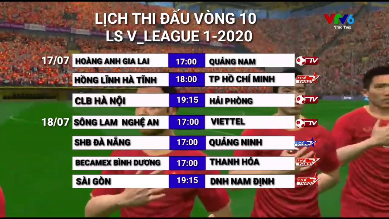L U1ecbch Thi U0110 U1ea5u V League 2021 L U1ecbch Thi U0111 U1ea5u V U00f2ng 9 V League