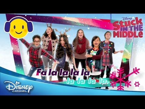 Stuck in the Middle | Deck the Halls Karaoke | Official Disney Channel US
