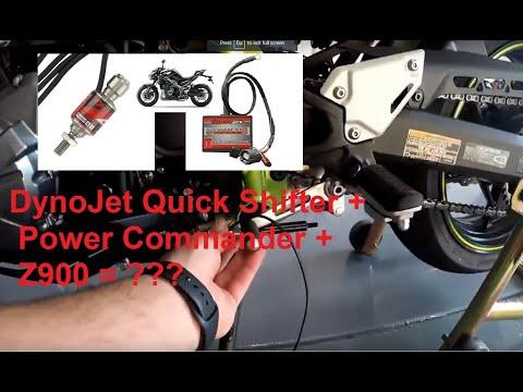 Kawasaki Z900 Dynojet Quick Shifter Install Youtube