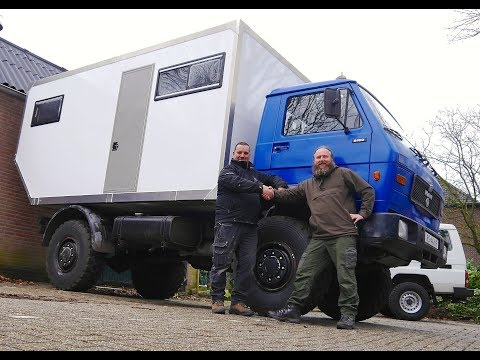 Driving The Managon back to the UK #6 -MAN 8.150 4x4-